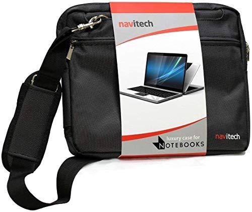 """Navitech Schwarz Fall/Abdeckung Trage Tasche Kompatibel Mit Dem HP EliteBook 1050 G1 15.6"""" 4K UHD Laptop"""