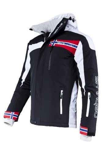 Nebulus Nebulus Skijacket - FREESTYLE Veste de ski Homme black FR: M (Taille Fabricant: M)