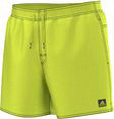 adidas Herren Badeshort Badehose BASIC SOLID SHORT SL solar yellow, Größe:XL -