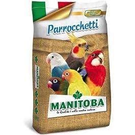 MANITOBA MANGIME per Uccelli kg. 20 MISCUGLIO PARROCCHETTI