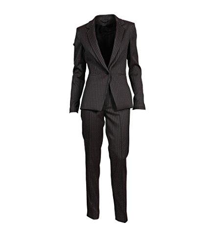 drykorn anzuege Drykorn Damen Anzug Golders mit Webmuster Bordeaux 50 Bordeaux 3