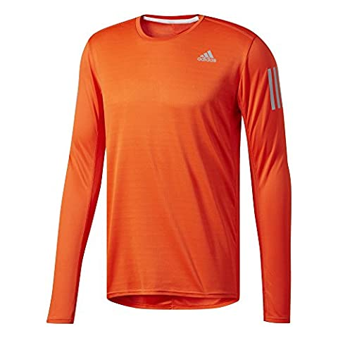 adidas Response Haut à Manches Longues Homme, Energy, FR : M (Taille Fabricant : M)