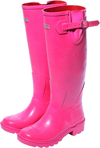 town-country-bottes-caoutchouc-framboise-taille-uk-4-eu-37