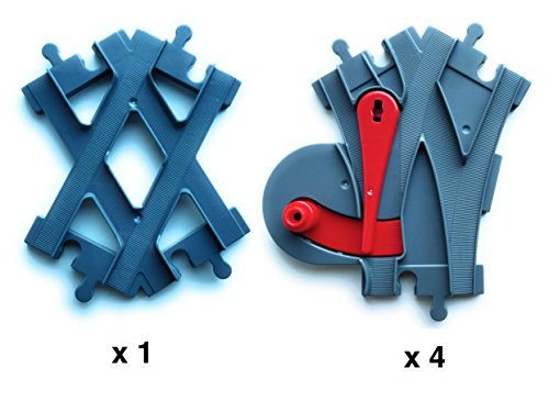 4 Cambios de Aguja - 1 Cruce de Vias -...