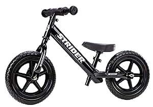 Strider 12 Sport No-Pedal Balance Bike (Black)
