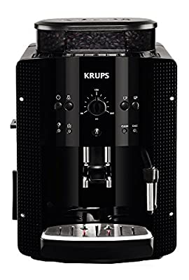Krups Espresseria EA8108 Automatic Bean to Cup Coffee Machine, Black from Krups