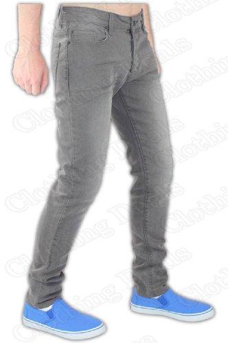 EnzoHerren Jeanshose EZ193- Grey