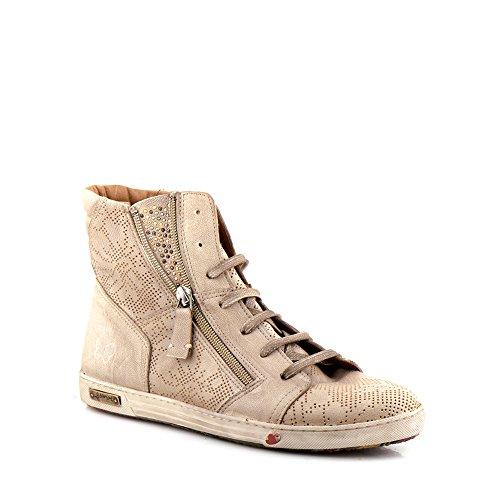 Felmini - Scarpe Donna - Innamorarsi com Jomar 9204 - Sneakers - Pelle Genuina - Marrone - 40 EU Size