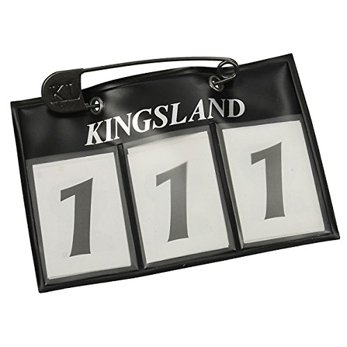 Kingsland Startnummer  - Schwarz - Gr. One Size