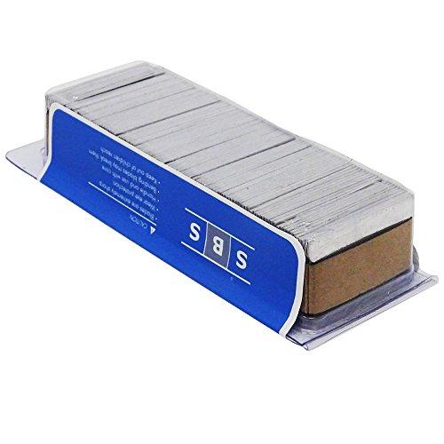 SBS® Schaber Ersatzklingen 100 Stück im Blister 40 x 20mm