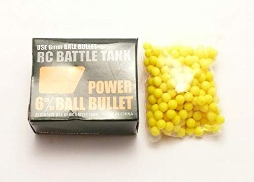Unbekannt Heng Long 6mm BB Ball Bullet Softair für 1/16 1/24 RC Tank - 18-077 - STD