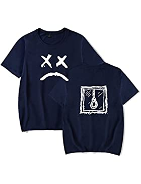 SIMYJOY Lovers Lil Peep Maglietta Crybaby Street Style Hip Pop Tshirt Cool Casual Top per Uomo Donna Teen