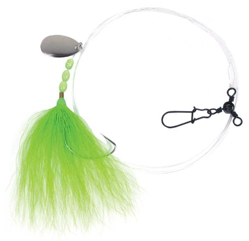 Sea Striker n8955-ch Fluke Rig 2/0 Widegap Spinner 3 Wege Stück bktail -