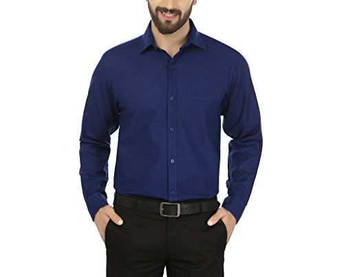 Jainish Men's Cotton Formal Shirt (Available in various Colour Options)
