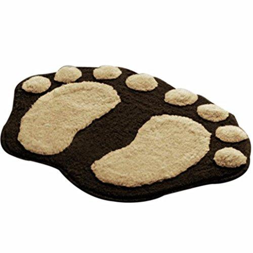 VENMO Soft Feet Memory Foam Bad Badezimmer Schlafzimmer Boden Duschmatte Teppich Badematte Rutschfest Badezimmer Dusche Teppiche