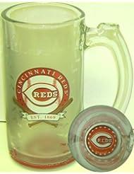 Cincinnati Reds 13 Oz. Glass Sports Mug