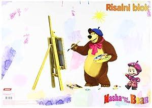 Target 19809 Masha and The Bear 19807 - Libro de Dibujo, A3