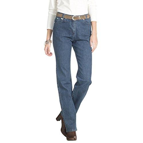 Anne Weyburn Donna Jeans Denim Stretch, Cavallo 73 Cm Blu Stone
