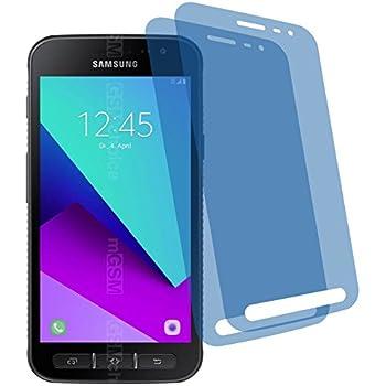 2x GEHÄRTETE ANTIREFLEX matt 3D Touch Schutzfolie Samsung Galaxy Xcover 4 Bildschirmschutzfolie Schutzhülle Displayschutz Displayfolie Folie