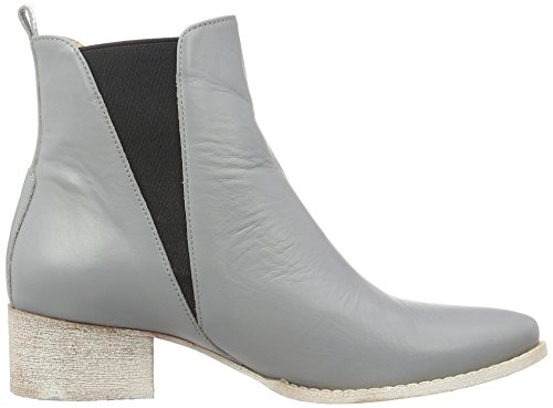 Anna Bork  Chelsea Boots, Bottes Chelsea femme gris/noir