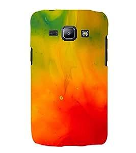 MODERN ART SMOKY PATTERN OF MIST 3D Hard Polycarbonate Designer Back Case Cover for Samsung Galaxy J1 :: Samsung Galaxy J1 J100F (2015)