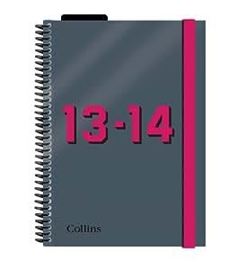 Collins Delta Agenda scolaire A5 Semainier Année 2013 2014 Rouge [en Anglais]