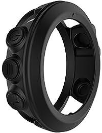 Jerome10Dan Silikon Schutzhülle Shell, Smartwatch Schutzhülle für Garmin Fenix 3 Fenix 3 HR Quatix 3 Smart Watch