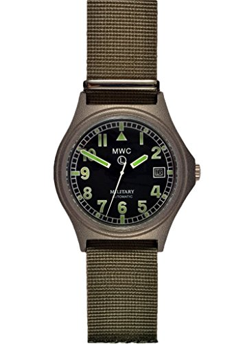 MWC G10Automatischer (100m Wasserdicht) Military Armbanduhr