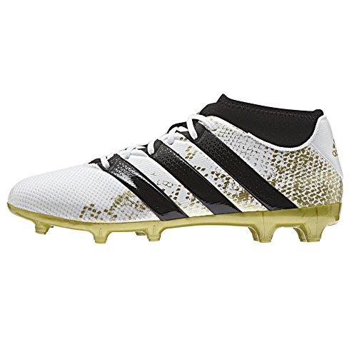 adidas Ace 16.3 Prime Aq3442, Entraînement de football homme Blanc (Ftwr White/gold Metallic/core Black)