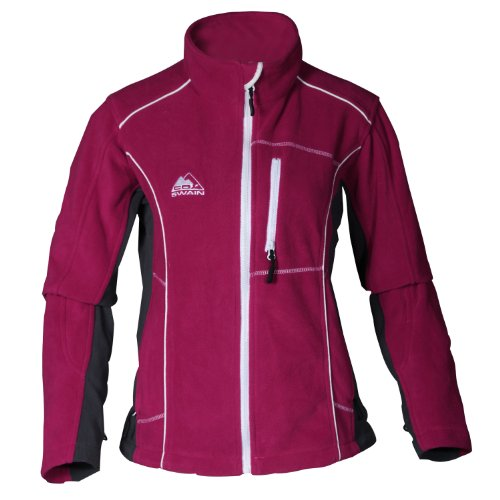 Cox Swain Damen Outdoor Fleecejacke Kariba - 220 g, Colour: Purple, Size: S