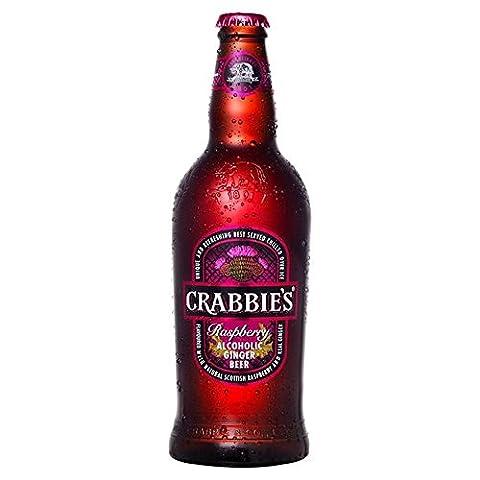 Crabbies Scottish Raspberry 500ml - (Pack of 2)