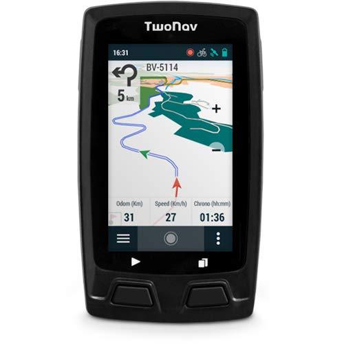 TwoNav Velo Gris - GPS Full Connect Ciclismo Pantalla
