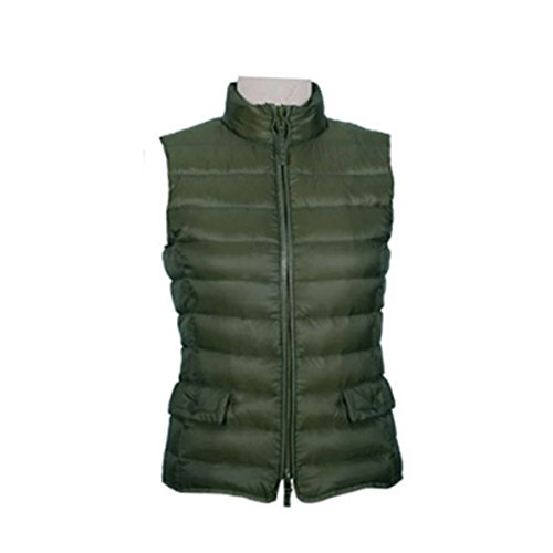 MS VASSA Damen Jacke Daunenweste Ladies' Down Vest Army Green