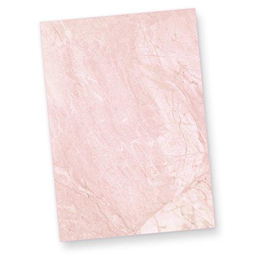Marmor, Papier Hintergrund (TATMOTIVE 01-0013-0090-00050 Briefpapier Marmor Rot (50 Blatt) BEIDSEITIGES Tatmotive-Strukturpapier, 50 Briefbogen DIN A4 297 x 210 mm, fein marmoriert für Briefe, Urkunden, Speisekarten)