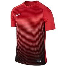 Nike SS YTH Segment IV JSY Camiseta de Manga Corta, Hombre, Rojo (University