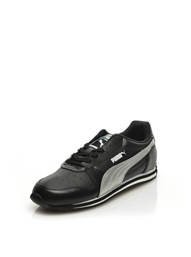 Puma Fieldsprint SL Cuir de chaussures de sport des femmes - Chaussures - Noir Black
