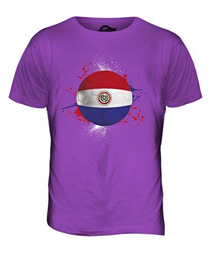 CandyMix Paraguay Fußball Herren T Shirt Violett
