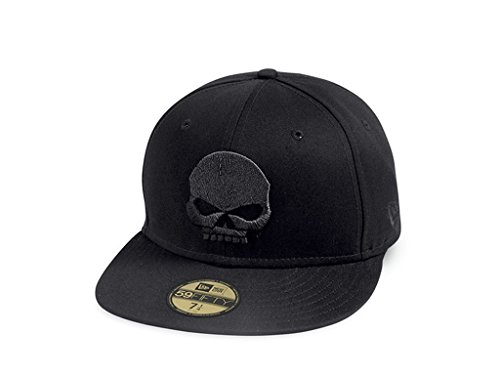 HARLEY-DAVIDSON Baseball Cap 59FIFTY Skull, XXL (Xxl-skull-cap)
