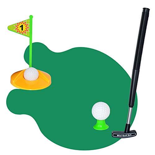 Aihifly-toy Mini Golf Spielzeug Golfset Golfspiel Toilet Golf, Potty Putter Set Bad Spiel Mini Golf Set Golf Putting Novelty Set, Golf Spielen auf der Toilette (Farbe, Größe : 97 * 80cm)