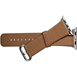 iwatch P421 Leather Strap Brown