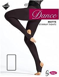 Silky Girls Matte Stirrup Dance Tights