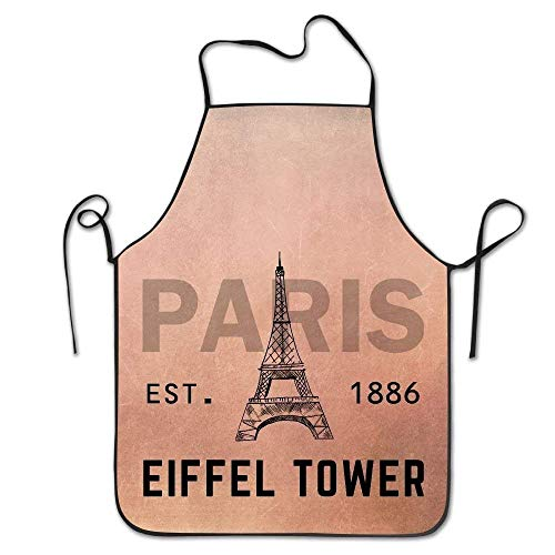 Tower Eiffel Kostüm - HTETRERW Eiffel Tower Women's Funny Creative Print Cooking Aprons