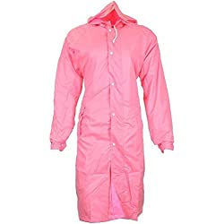 Krystle Women's PVC Stylish Raincoat(colors are ASSORTED) Size Large