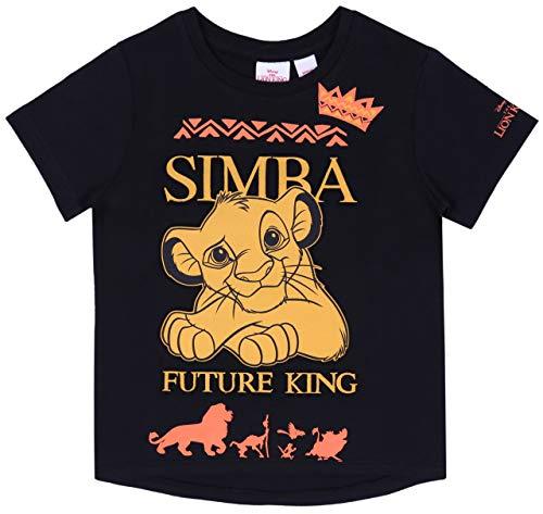 Schwarzes T-Shirt Simba Der König der Löwen Disney 3-4 - Lion King Simba Kostüm