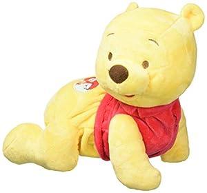 Clementoni - Disney Winnie The Pooh Gattona con Me, Peluche Primeros Pasos,, 17306