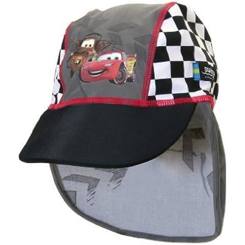 Swimpy, Cappello anti-UV Ragazzo Sommer -Disney Cars, Grigio (grau), 4 anni