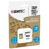 Tarjeta de memoria para Nokia Lumia 630Dual SIM–32GB Micro SD clase 10+ Adaptador SD–EMTEC