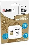 Carte mémoire 32 Go pour Huawei P8 Lite - Micro SD classe 10 + adaptateur SD - EMTEC