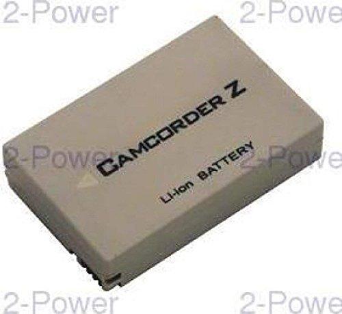 2-Power 1100mAh Li-Ion (7,4V) Camcorder Ersetzt Akku für BT-L226