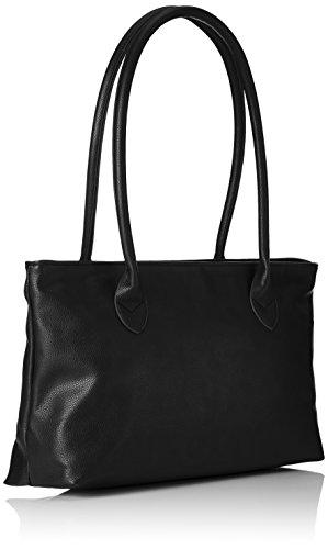 Tamaris - Louise Shoulder Bag /Pack 4 Pcs, Borse a spalla Donna Nero (Black)